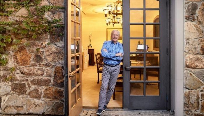 Silverado Vineyards' President Russ Weis