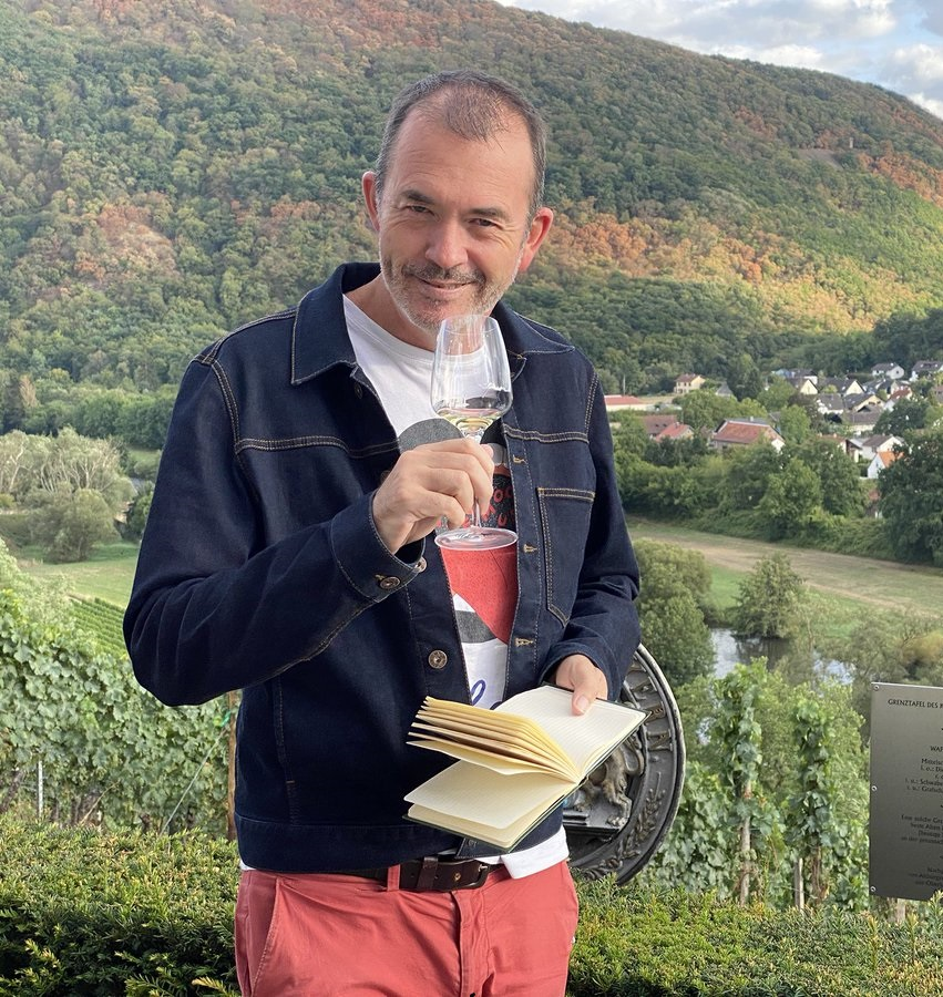Jamie Goode - wine columnist for The Sunday Express and a British author