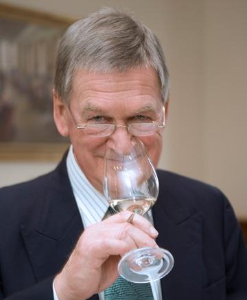 Hugh Johnson - best-selling wine writer and expert