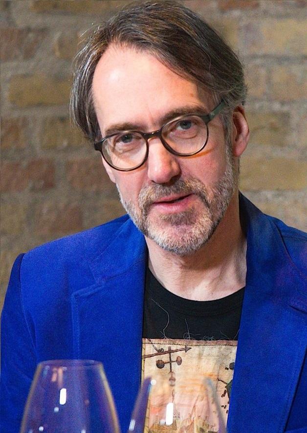 Stuart Pigott - wine critic and author from the United Kingdom