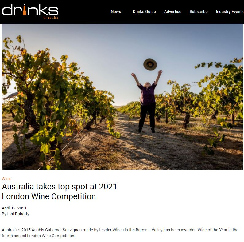Australia takes top spot at 2021 London Wine Competition