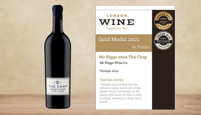 Mr Riggs 2014 The Chap