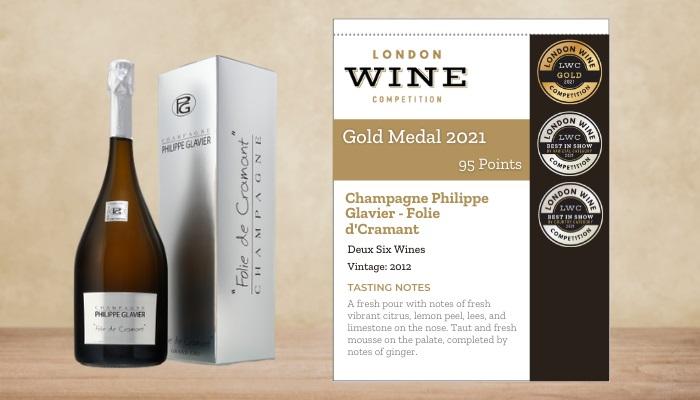 Champagne Philippe Glavier - Folie d'Cramant