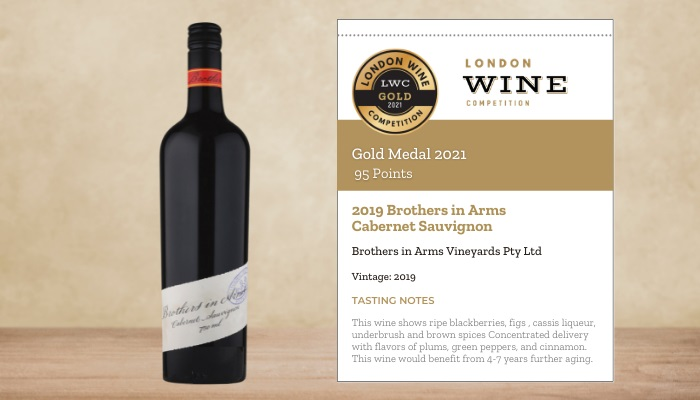 2019 Brothers in Arms Cabernet Sauvignon