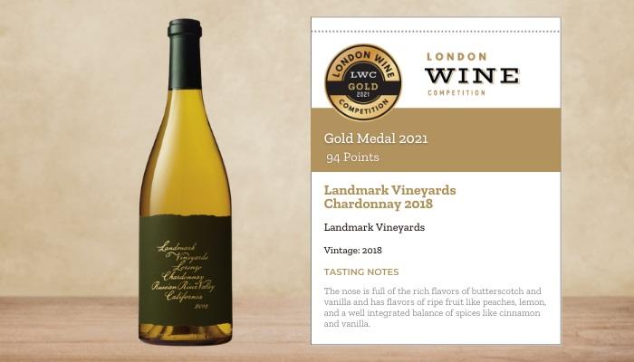 Landmark Vineyards Chardonnay 2018
