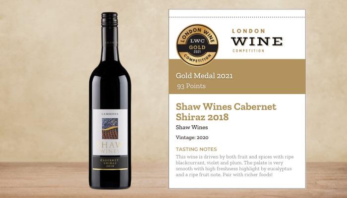Shaw Wines Cabernet Shiraz 2018