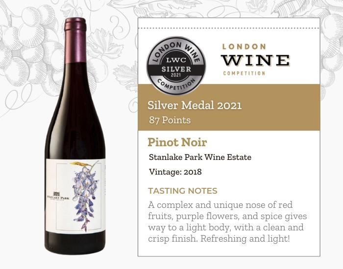 Pinot Noir by Stanlake Park Wine Estate