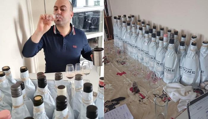 Antonio Palmarini Judging Wines