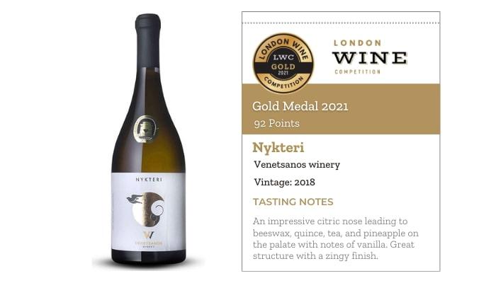 Nykteri 18 by Venetsanos winery