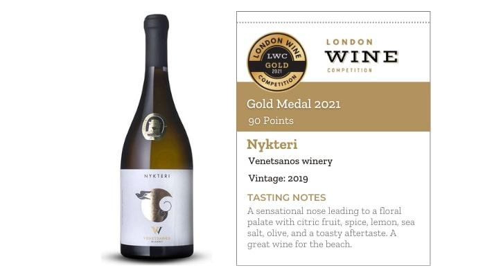 Nykteri 2019 by Venetsanos winery