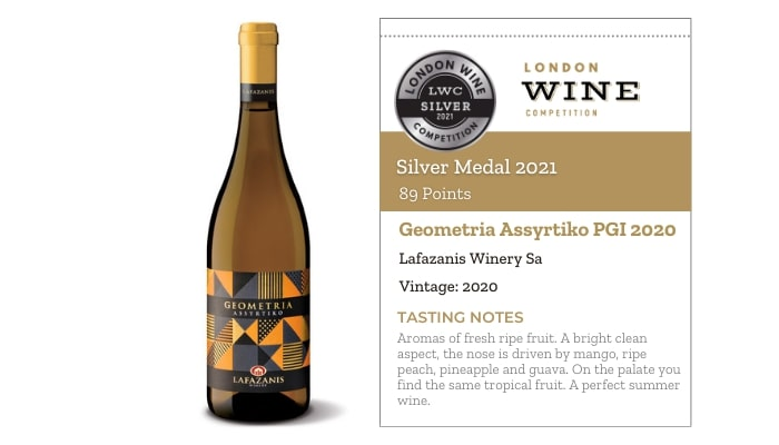 Geometria Assyrtiko PGI 2020 by Lafazanis Winery Sa