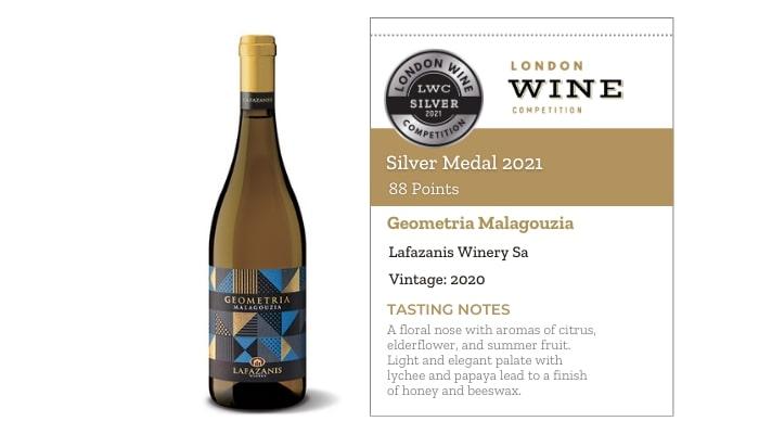 Geometria Malagouzia by Lafazanis Winery Sa
