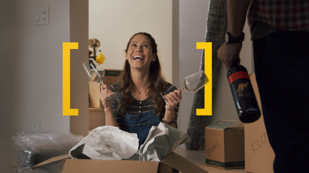 Yellowtail TV ad focus to the happy moment