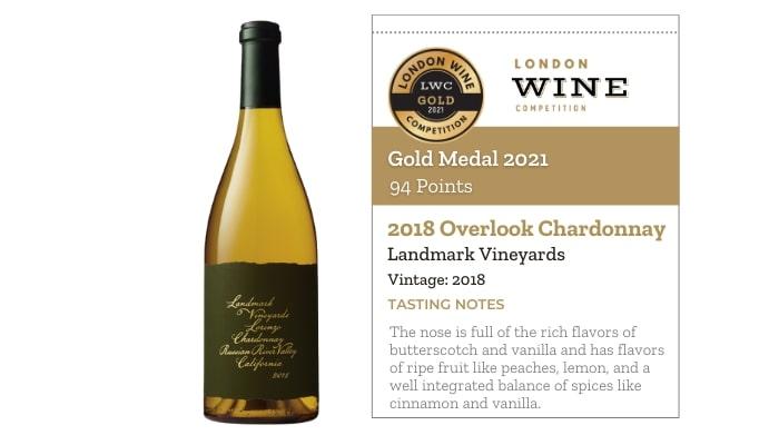 2018 Overlook Chardonnay by Landmark Vineyards