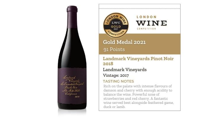 Landmark Vineyards Pinot Noir 2018 by Landmark Vineyards