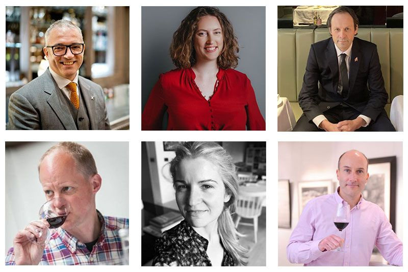 Some of the judges that have taken part in the London Wine Competition