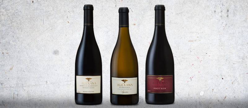 Photo for: Wines from Alexana Winery Take Home Three Medals